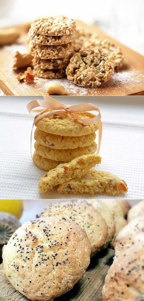 Рецепты приготовления диетического печенья из