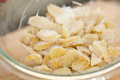 Рецепты цукатов из имбиря, польза и вред,