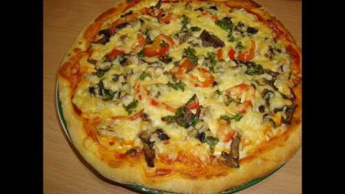 Как приготовить пиццу в домашних условиях видео