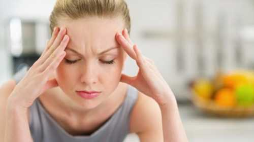 Стресс усиливает головную боль