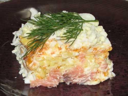 Рецепты вкусного рыбного салата:  секреты выбора