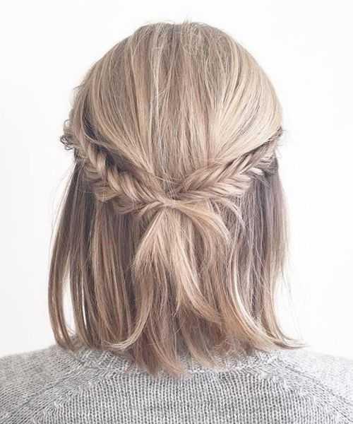 Прически на 14 февраля: оригинальные идеи на короткие волосы