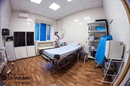 Появилось фото Воробьева в клинике