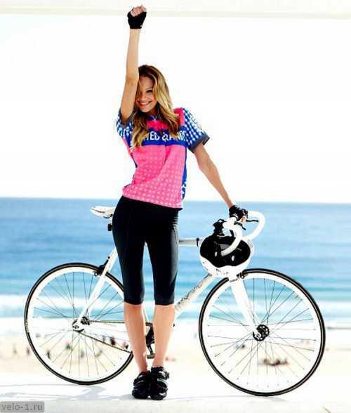 Одежда для катания на велосипеде или легкий способ быть красивой
