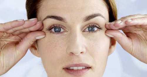 Как убрать морщины под глазами