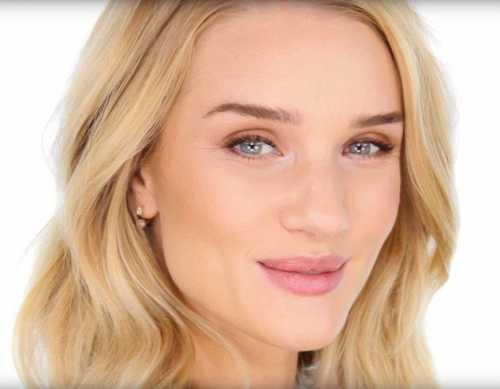 Видеоурок: макияж Рози Хантингтон