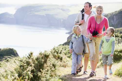 Два условия успешного весеннего путешествия всей семьей