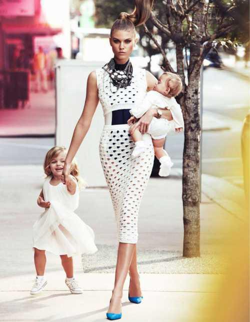 Стильная мама: красота и стиль против развития ребенка