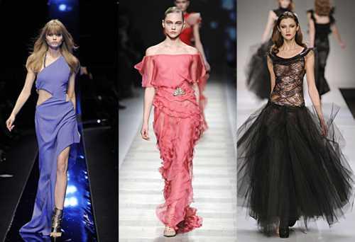 Эволюция коктейльного платья