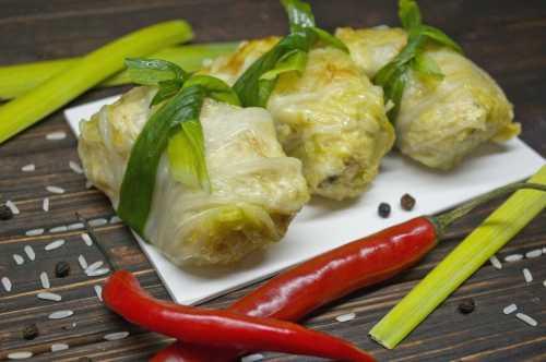 Рецепты голубцов из пекинской капусты: секреты