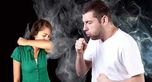 Пассивное курение ведет к развитию тяжелого