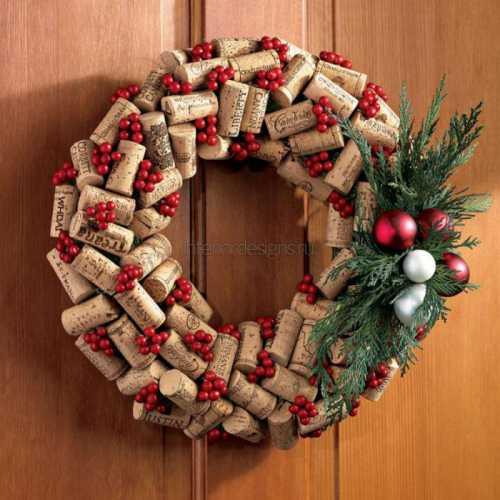 Рождественские венки Украсим дом своими руками