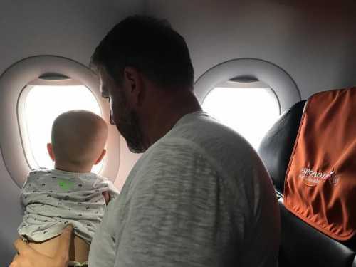 Максим Виторган показал сына в профиль